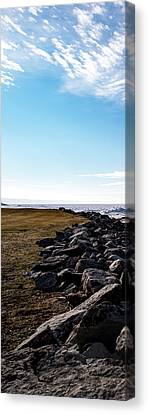 Canvas Print featuring the photograph Sunny Afternoon-t1 by Onyonet  Photo Studios