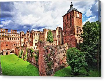 Sunny Day In Heidelberg Canvas Print by Daniel Koglin