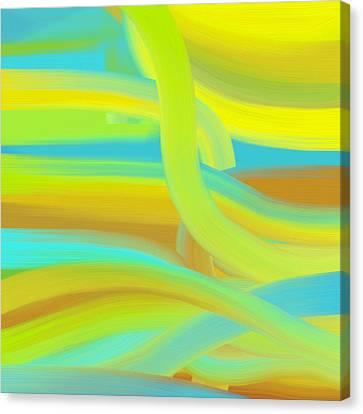 Sunny Dunes Canvas Print by Frank Tschakert