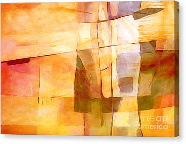 Sunny Scene Canvas Print by Lutz Baar