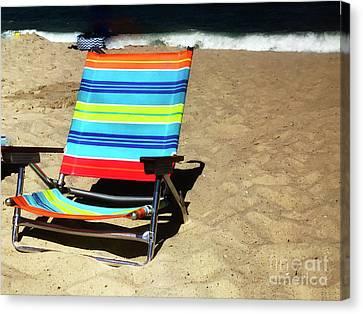 Sunny Seat Canvas Print