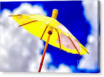 Sunny Shelter Canvas Print