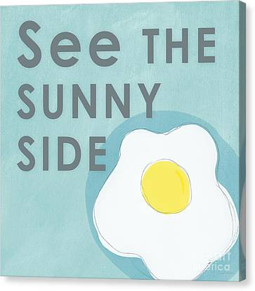 Sunny Side Canvas Print by Linda Woods