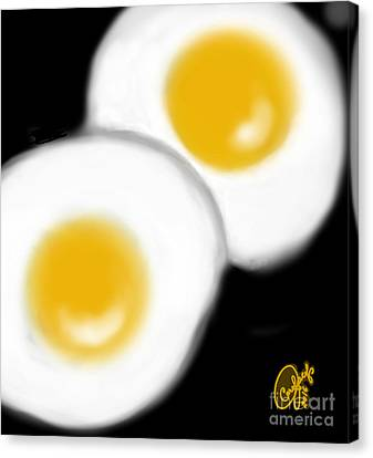 Sunny-side Sunday Morning Canvas Print