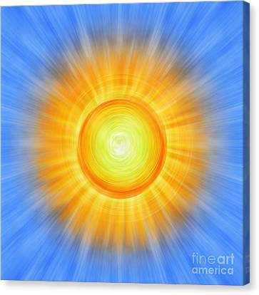 Sunny Canvas Print by Tim Gainey