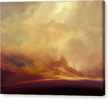 Stormy Canvas Print - Sunny Tomorrows by Lonnie Christopher