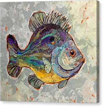 Sunnyfish Canvas Print