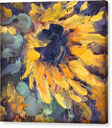 Sunnyside Up Canvas Print by Donna Tuten