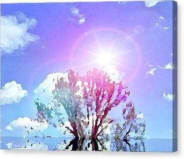 Sun Rays Canvas Print - Sunrays by Zin Shades