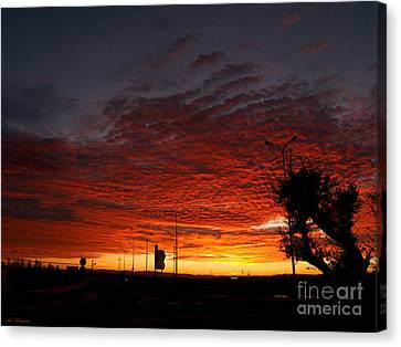 Sunrise 01 Canvas Print by Arik Baltinester