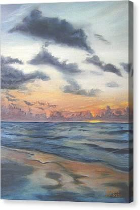 Sunrise 02 Canvas Print