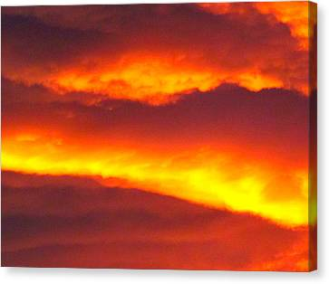 Sunrise 6.30  Canvas Print