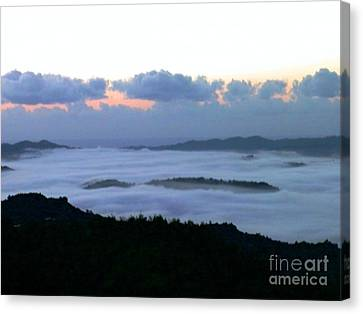 Canvas Print featuring the photograph Sunrise by The Art of Alice Terrill