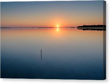 Sunrise Along The Pinellas Bayway Canvas Print