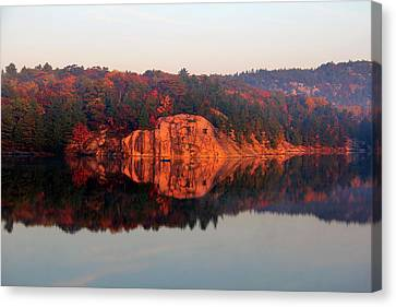 Sunrise And Harmony Canvas Print by Debbie Oppermann