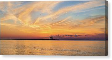 Canvas Print featuring the photograph Sunrise And Splendor by Bill Pevlor