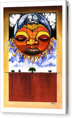 Sunrise Canvas Print by Anthony Burks Sr