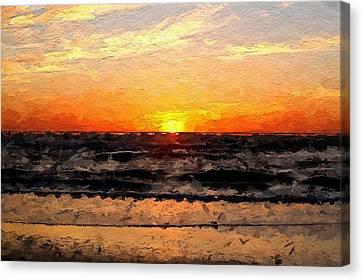 Sunrise Canvas Print by Anthony Fishburne