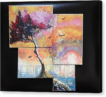 ''sunrise'' Canvas Print by Asia Dzhibirova