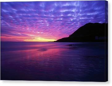 Morn Canvas Print - Sunrise At Bray Head, Co Wicklow by The Irish Image Collection