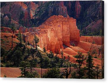 Canvas Print featuring the photograph Sunrise At Bryce Canyon by Donna Kennedy