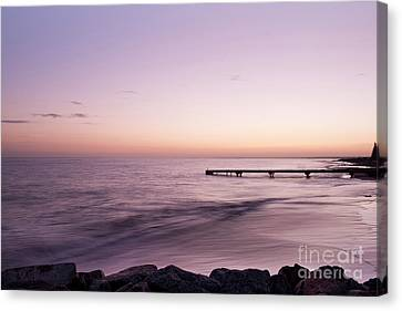 Sunrise At Busselton Canvas Print by Ivy Ho