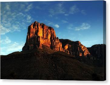 Sunrise At El Capitan Canvas Print