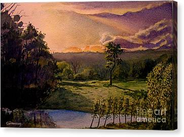 Sunrise At L Hermitiere Canvas Print by Christian Simonian