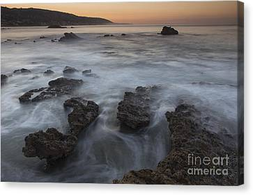 Sunrise At Laguna Beach II Canvas Print by Keith Kapple