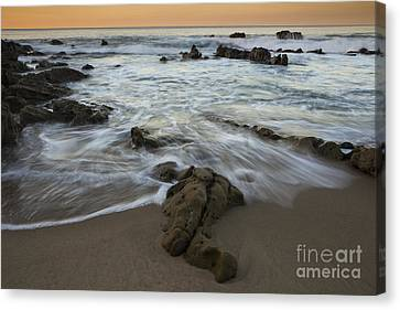 Sunrise At Laguna Beach Canvas Print by Keith Kapple