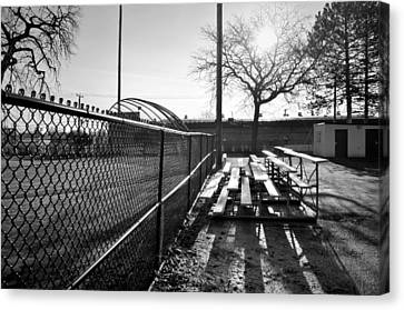 Canvas Print featuring the photograph Sunrise At Lions Field by Jeanette O'Toole