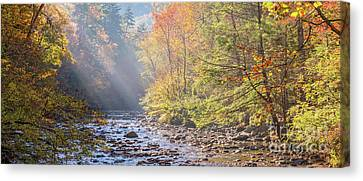 Sunrise At Metcalf Bottoms Canvas Print