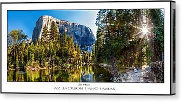Sunrise At Yosemite Poster Print Canvas Print