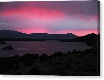 Sunrise At Yuba Lake Canvas Print by Dan Pearce