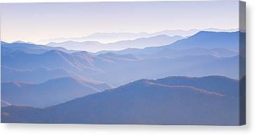 Sunrise Atop Clingman's Dome Gsmnp Canvas Print