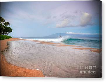 Canvas Print featuring the photograph Sunrise Break by Kelly Wade