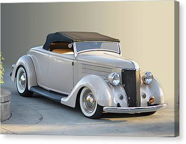 Canvas Print featuring the photograph Sunrise Cabrio by Bill Dutting