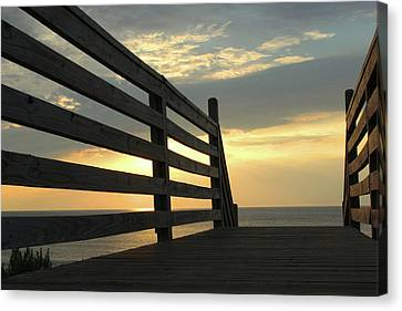 Sunrise Canvas Print by David Stasiak