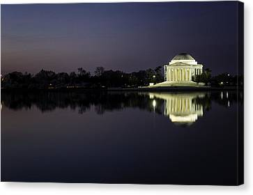 Sunrise Dc Canvas Print by Teri Aceto