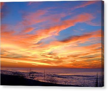 Sunrise Dune I I I Canvas Print