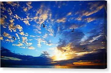 Sunrise Freedom Canvas Print
