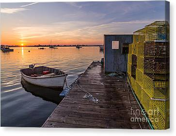 Sunrise From Erica's Canvas Print