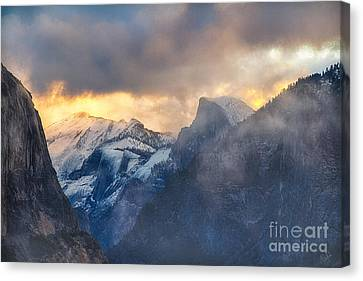Sunrise Half Dome Canvas Print