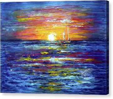 Sunrise Canvas Print by Harsh Malik