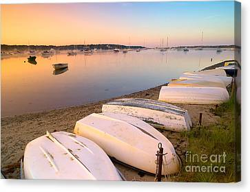 Sunrise In Osterville Cape Cod Massachusetts Canvas Print