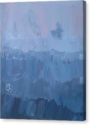 Sunrise In Purples Canvas Print