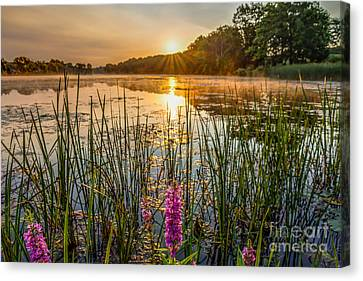 Sunrise Kent Lake Canvas Print