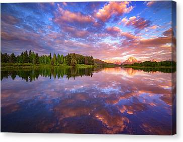 Sunrise Kiss Canvas Print by Darren  White