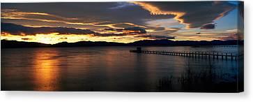 Sunrise Lake Tahoe Ca Canvas Print