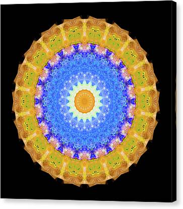 Third Eye Canvas Print - Sunrise Mandala Art - Sharon Cummings by Sharon Cummings